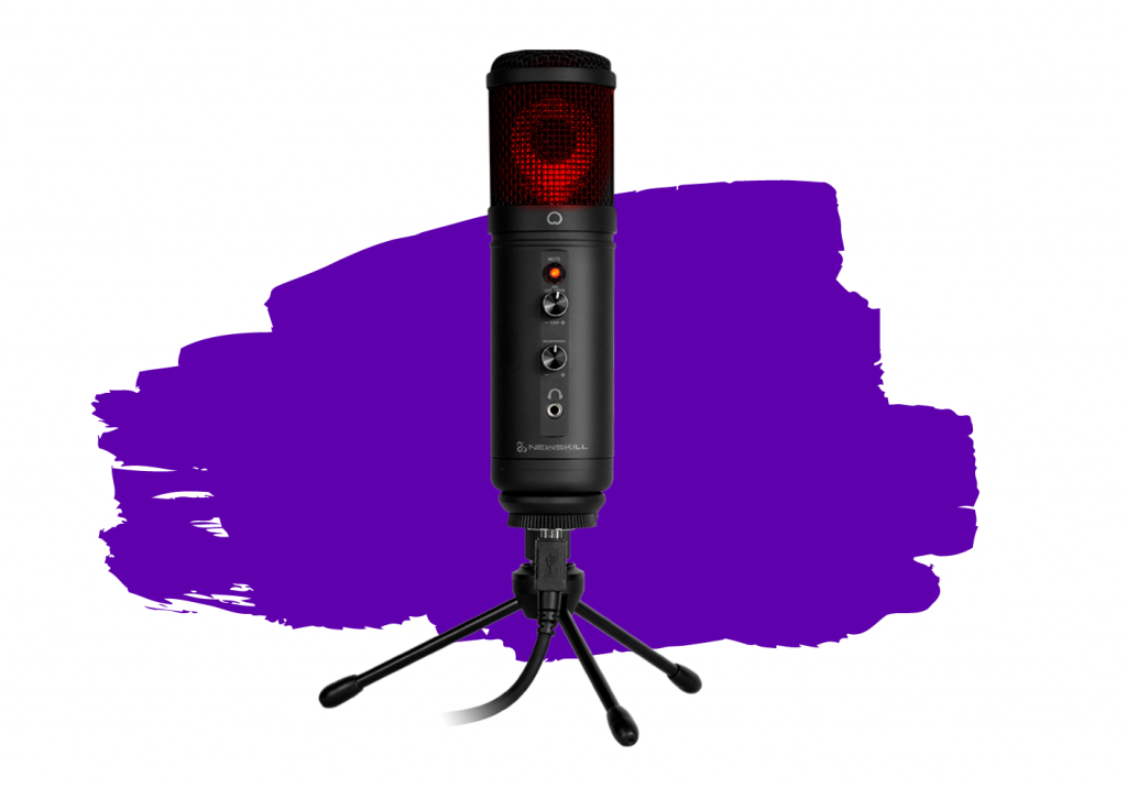 Micrófonos para streaming baratos - newskill kaliope