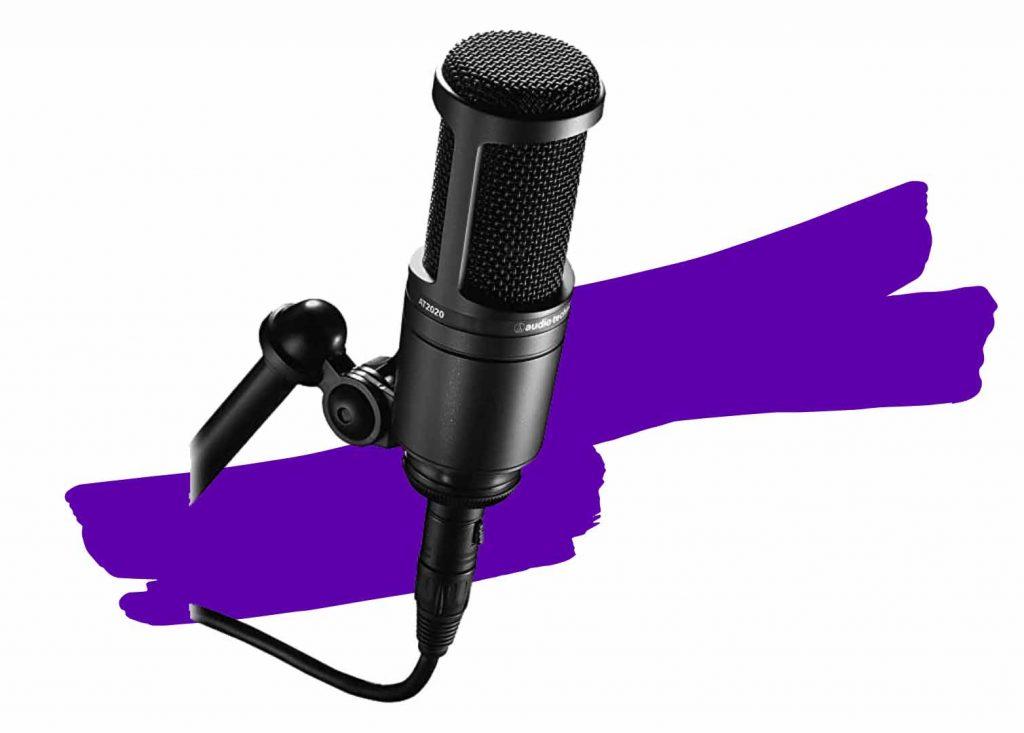 Micrófonos para streaming baratos audio-technica at2020