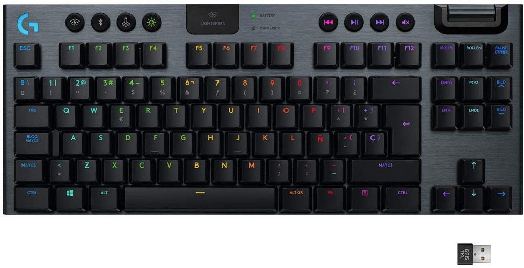 Reseña del teclado G915 TKL de Logitech