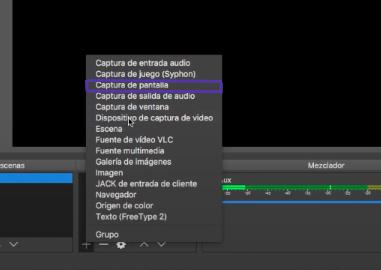 ¿Cómo grabar pantalla con el OBS?
